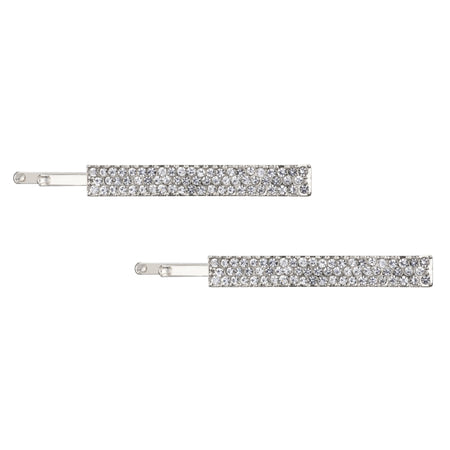 ABRI DROP EARRING-BLACK RHODIUM/WHITE/DENIM
