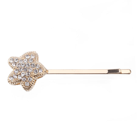CHANA HAIRPIN-WHITE GOLD