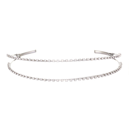 APONI HAIRPIN-WHITE GOLD