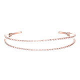 ARIONNA HEADBAND-ROSE GOLD