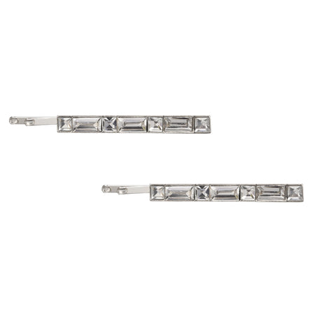 ABREE CLIP EARRING-RHODIUM