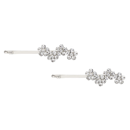 IMANI HAIR PIN-WHITE