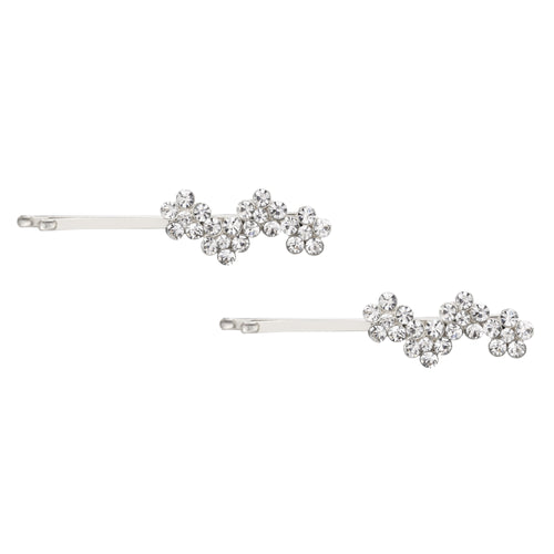 MANDY HAIR PIN-WHITE