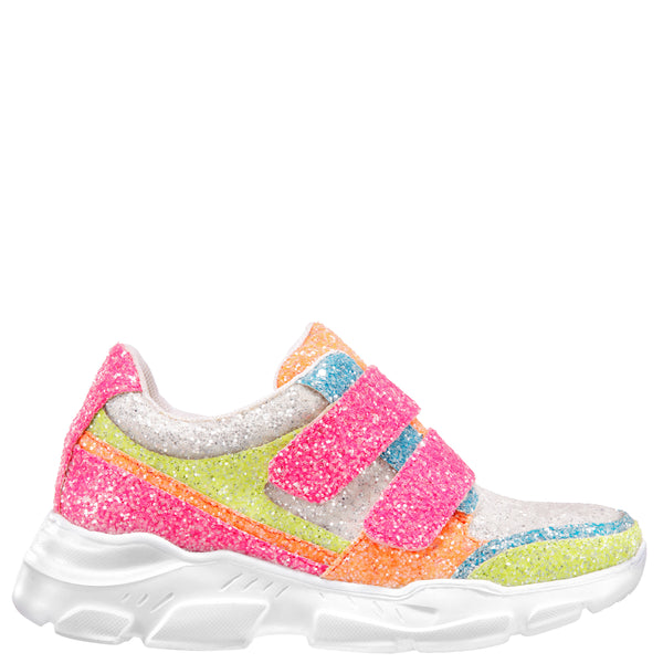HOLLEIGH-NEON MULTI-CHUNKY GLITTER