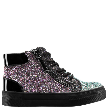 CAROLEEN-BLACK FLIP SEQUIN
