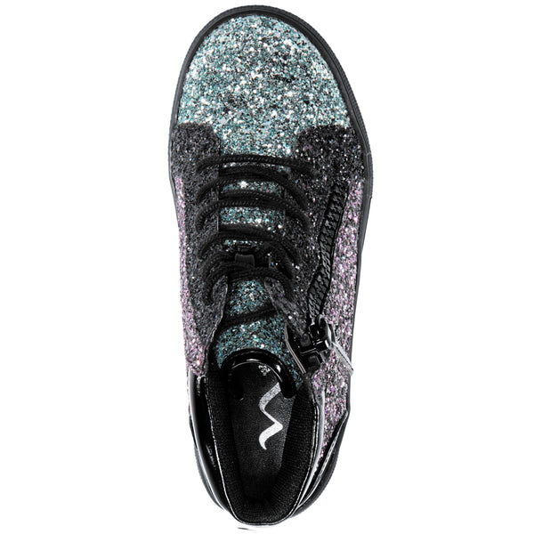 HYLDA-BLACK MULTI GLITTER