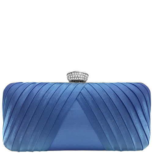 HYPATIA-LAPIS BLUE PLEATED