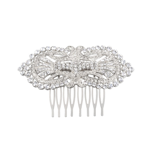 LUCERNE HAIR COMB-WHITE
