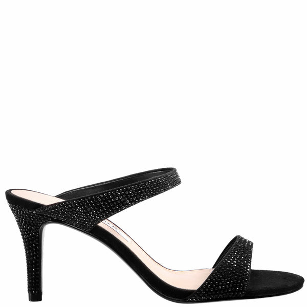 KEILANI-TRUE BLACK-GLAM SUEDE