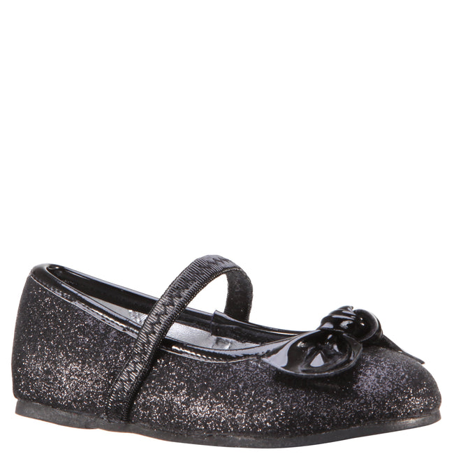 LARABETH-TODDLER-BLACK GLITTER