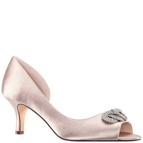 MADOLYN-TAUPE SATIN