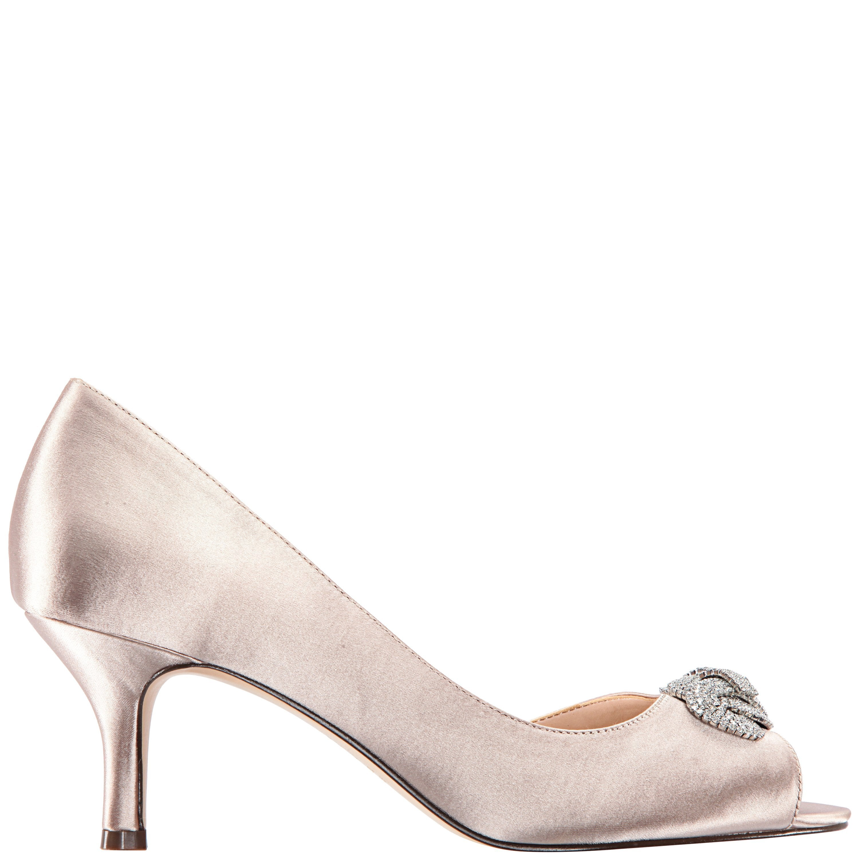 MADOLYN-TAUPE SATIN - TAUPE