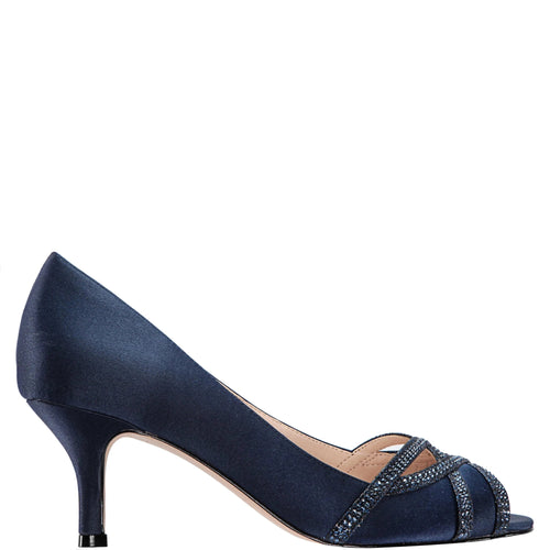 MANON-NEW NAVY SATIN