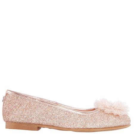 ESTHER-TODDLER-OFF WHITE-EMBOSSED METALLIC
