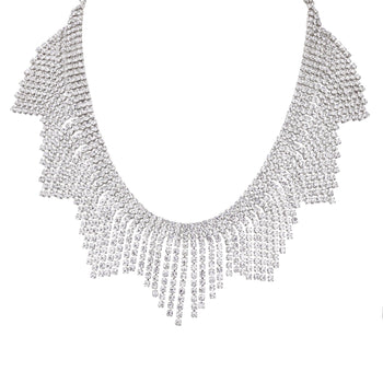 ALIYAH NECKLACE-WHITE