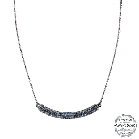 ELMAS NECKLACE-RHODIUM WHITE
