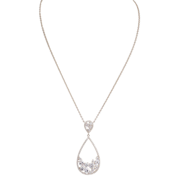 AREZZO NECKLACE-WHITE