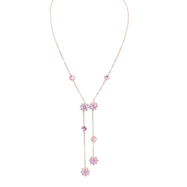 BOLOGNA NECKLACE-ROSE GOLD
