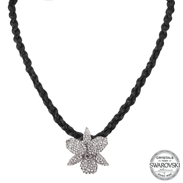 CHANA NECKLACE-BLACK