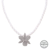CHANA NECKLACE-WHITE GOLD