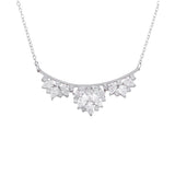 COLBIE NECKLACE-RHODIUM