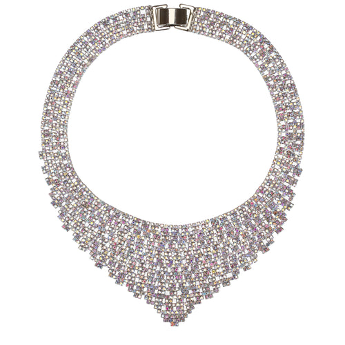 DIAMIRA NECKLACE-WHITE