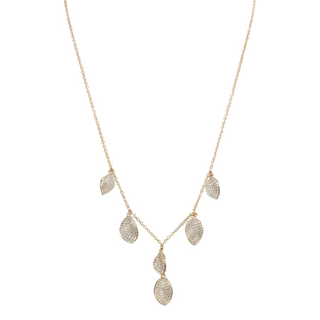 DAFNI NECKLACE-RHODIUM