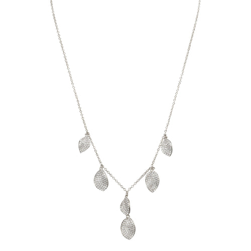 SERENADE NECKLACE-RHODIUM