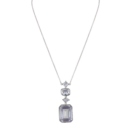 CATORI NECKLACE-RHODIUM