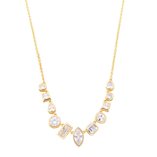 ZOEY NECKLACE-GOLD