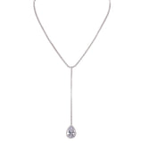 ZYRIA NECKLACE-WHITE GOLD