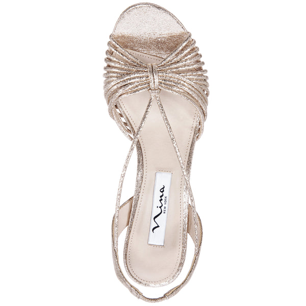 NADELYN-TAUPE REFLECTIVE SUEDETTE