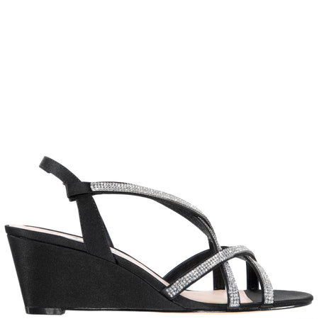 NOLITA-BLACK LUSTER SATIN
