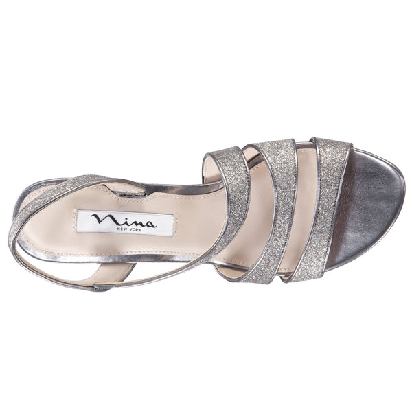 NARICE-LIGHT GUNMETAL BABY GLITTER