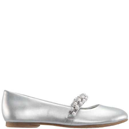 NATALY-TODDLER-SILVER SOFT NAPPA