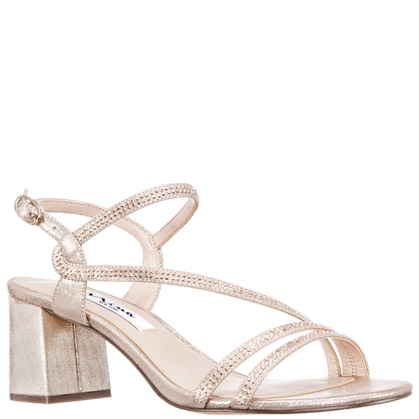 NAURA-TAUPE REFLECTIVE SUEDETTE