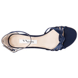 NIDIAH-NEW NAVY-LUSTER SATIN
