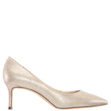 NINA60-TAUPE REFLECTIVE SUEDETTE
