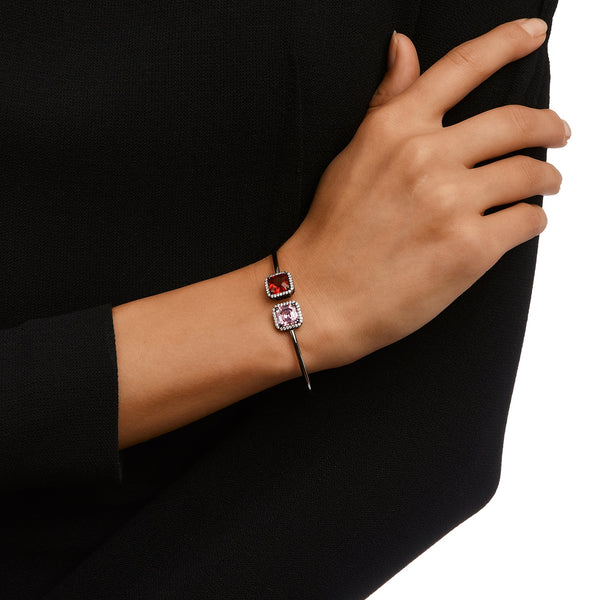 ERIN BRACELET-BLACK RHODIUM/ROSE/WHITE