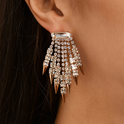 OCTAVIA DROP EARRING-GOLD