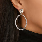 SHELBY DROP EARRING-WHITE