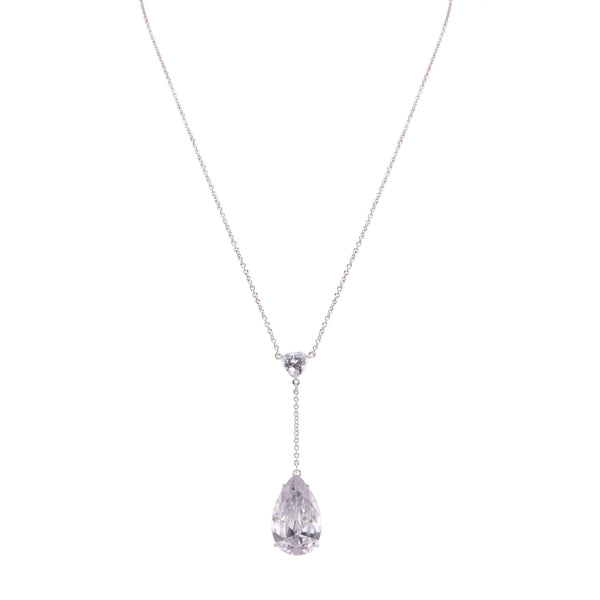 NIRVANA NECKLACE-RHOIDUM WHITE