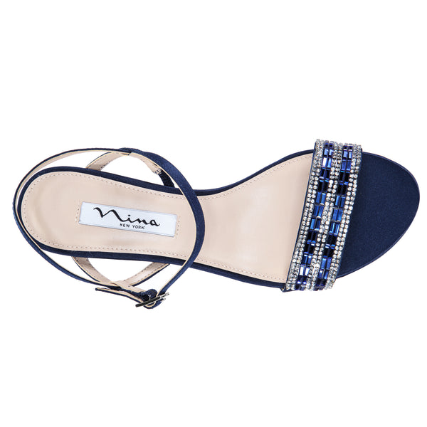 NOGA-NEW NAVY LUSTER SATIN