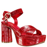 NOTE-REAL RED MOCO CROCO