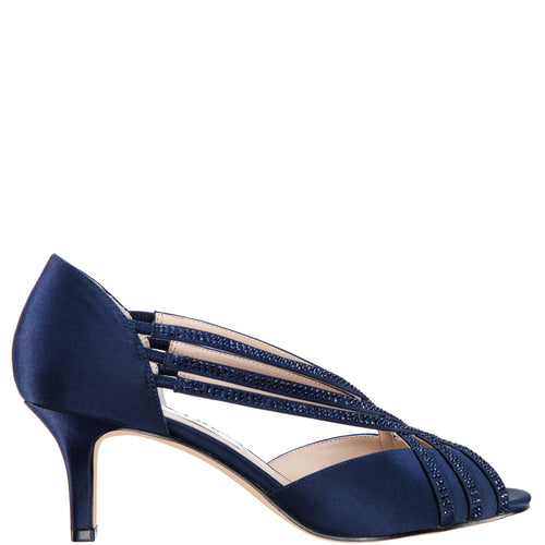NOVITA-NEW NAVY LUSTER SATIN