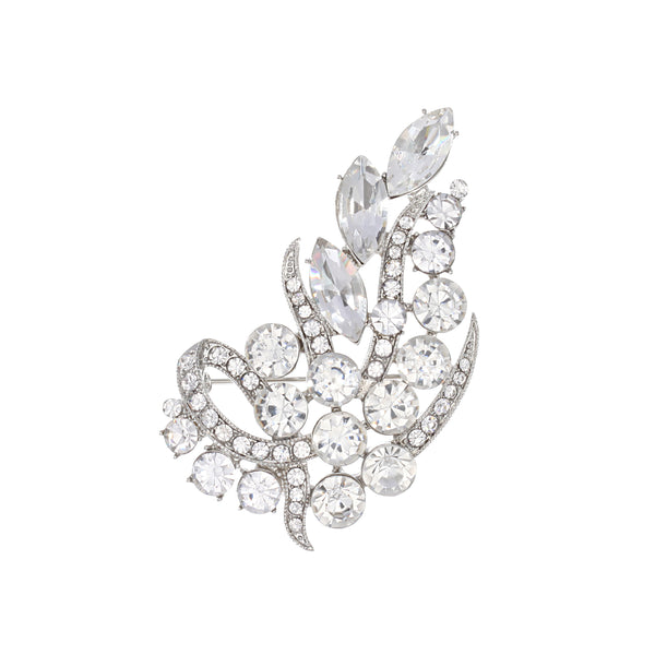 AINSLEE PIN-RHODIUM WHITE