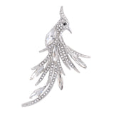 POMONA BROOCH-RHODIUM PLATING WHITE