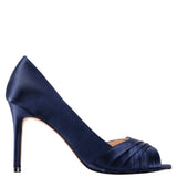 RHIYANA-NEW NAVY SATIN