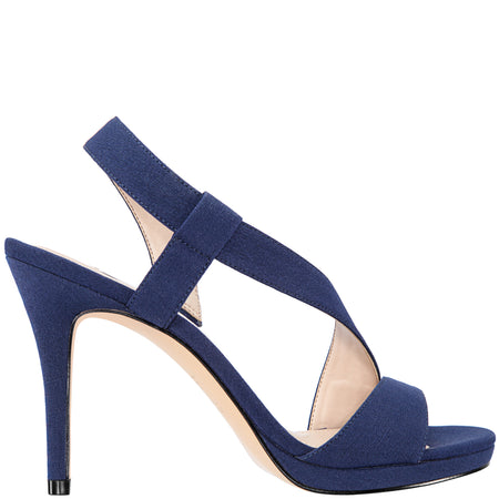 DAMARIS-NEW NAVY SATIN