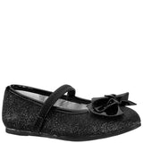 ROSALBA-TODDLER-BLACK GLITTER